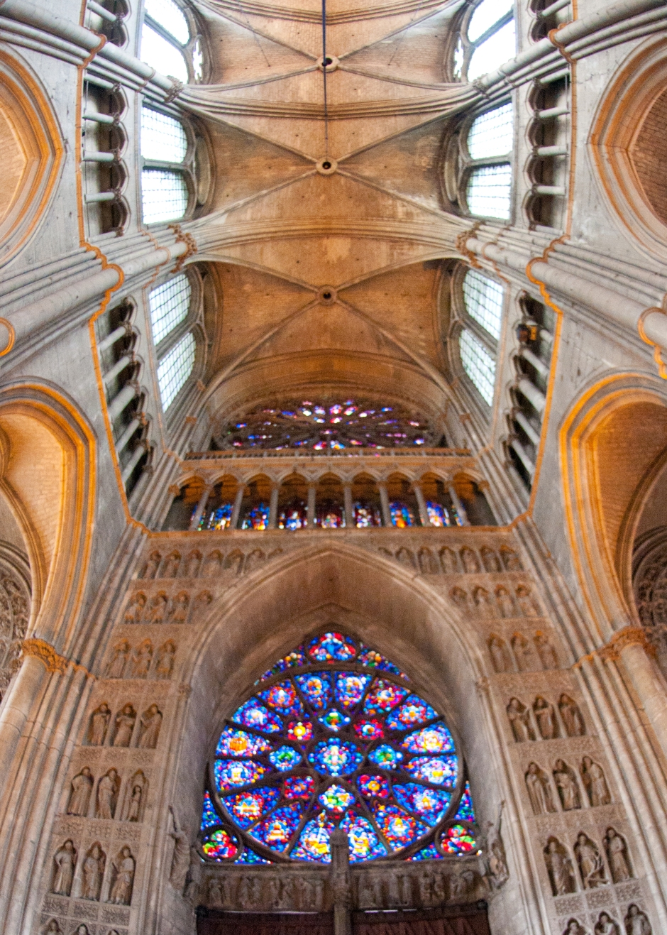 Reims Cathedral Inside